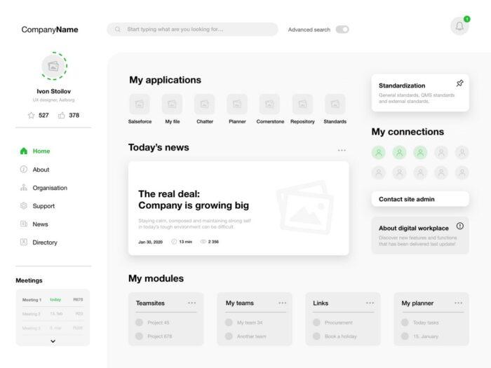 Web-App-Dashboard-Wireframes